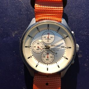 Seiko Chronograph 100M PreOwned great condition
